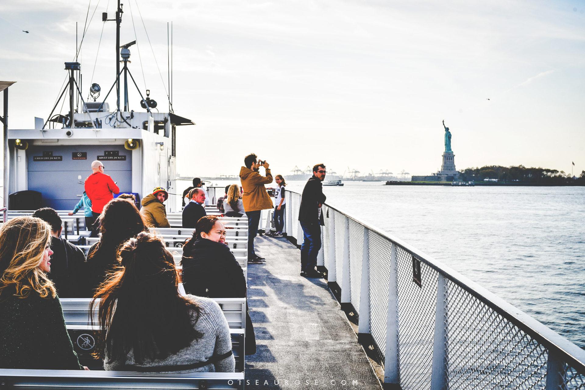 visiter la statue de la liberté en ferry