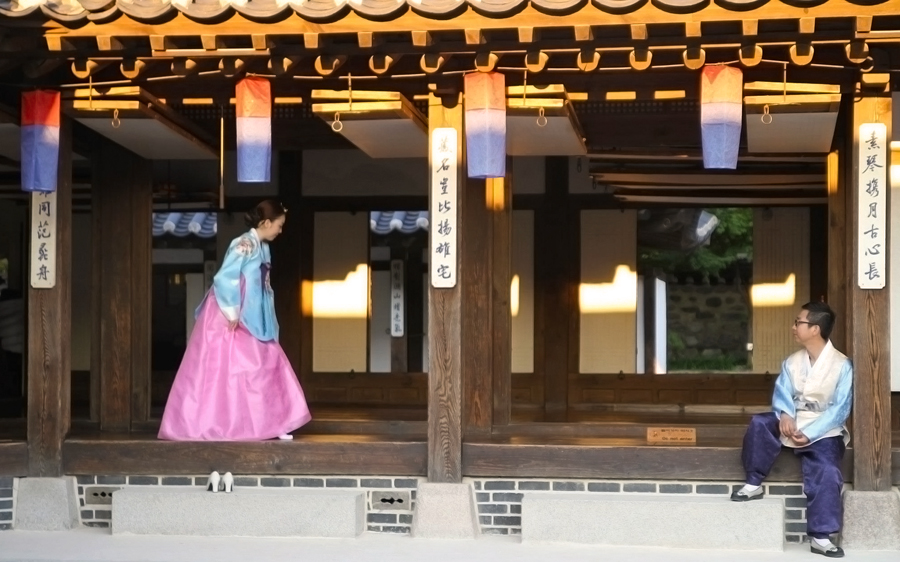 Mariage traditionnel - Village Hanok de Namsangol