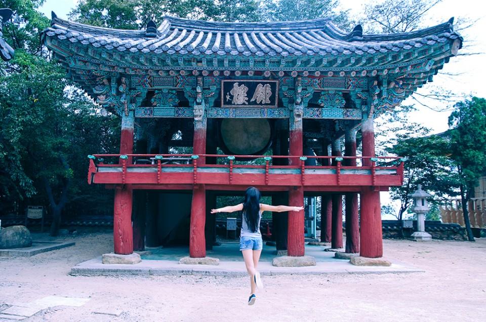 Les temples Yonggungsa et Beomeosa de Busan