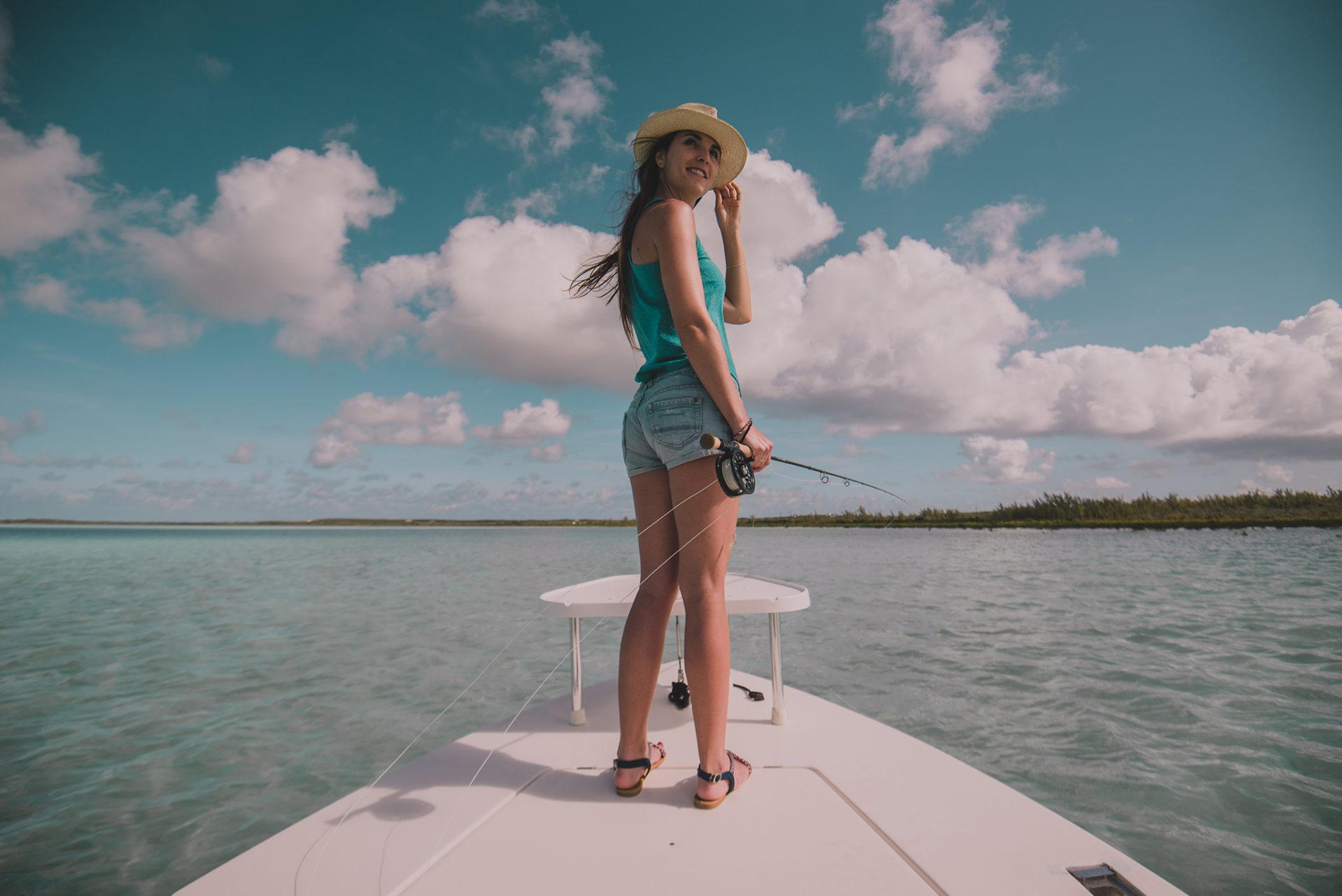 Bonefishing, Bahamas