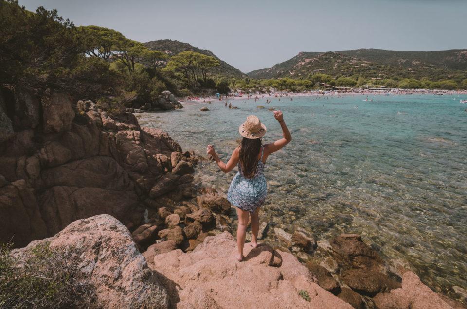 Palombaggia, une des plus belles plages de Corse !