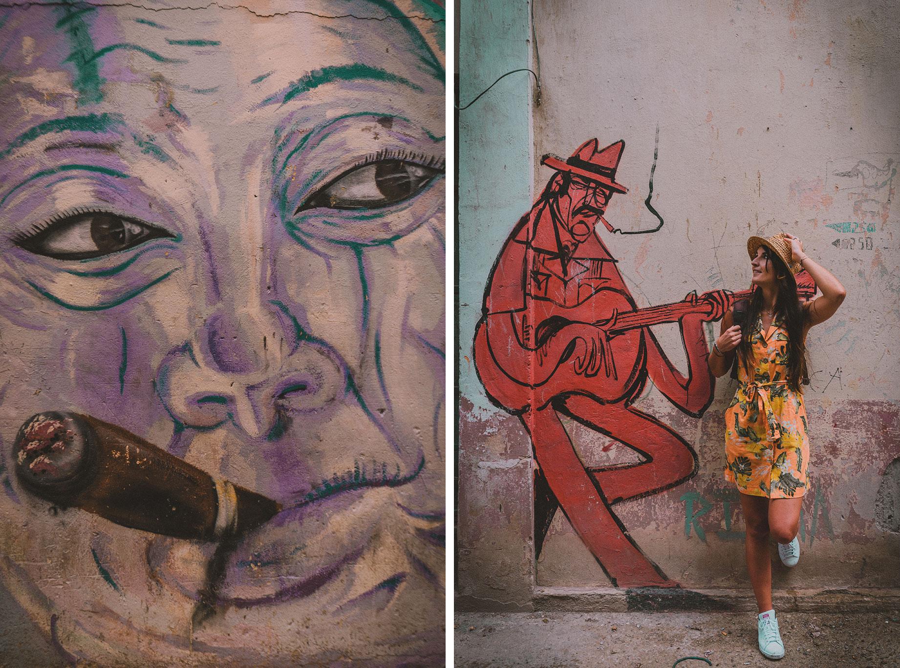 Art de rue à La Havane, Cuba