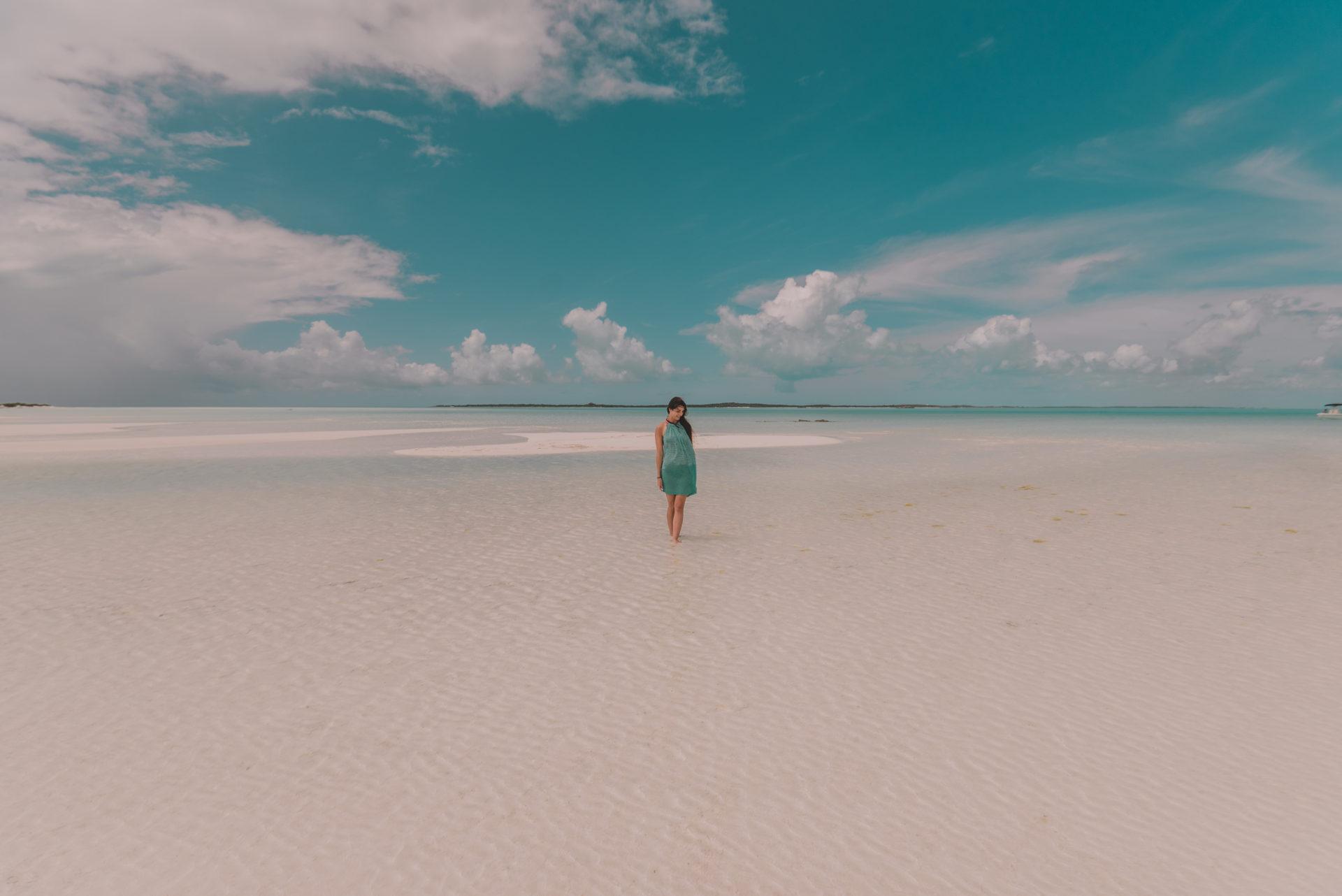 Bahamas, île déserte