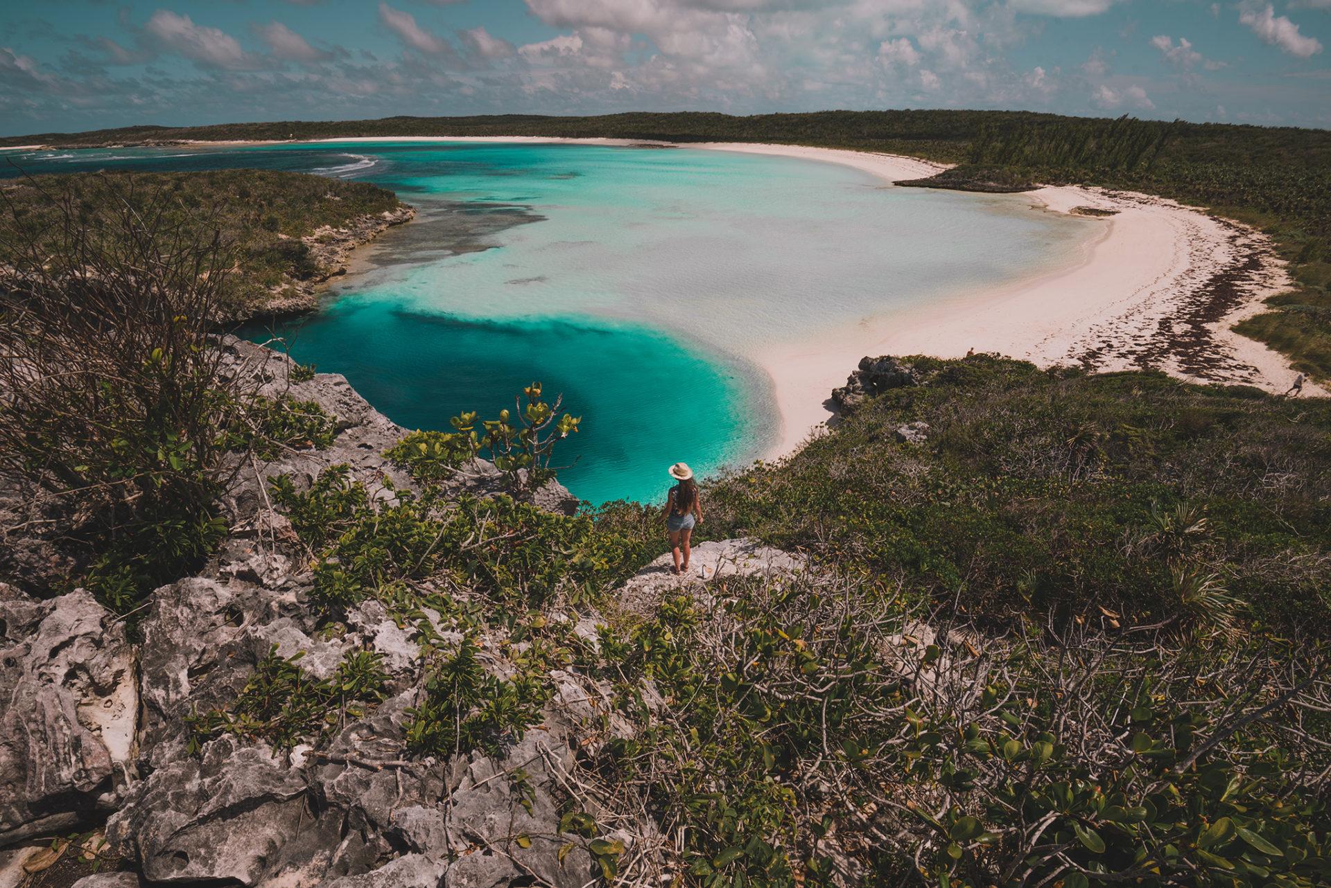 voir dean's blue hole long island, bahamas