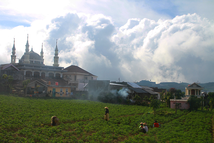 L'incroyable village de Dieng !