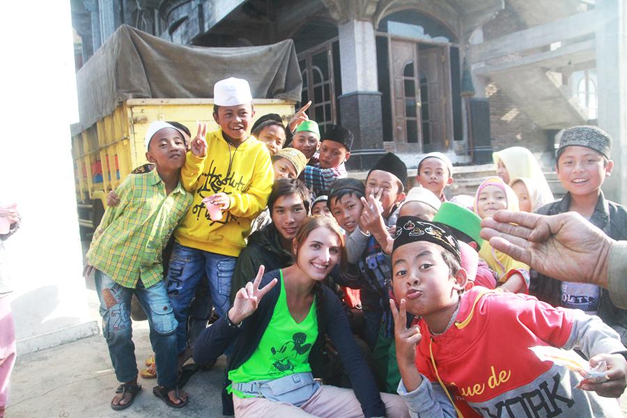 De superbes rencontres dans les petits villages aux alentours de Dieng.