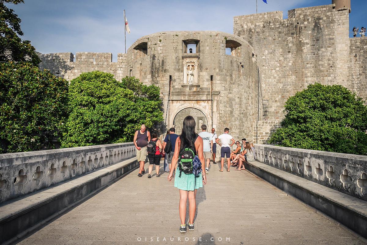 Dubrovnik-porte-pile