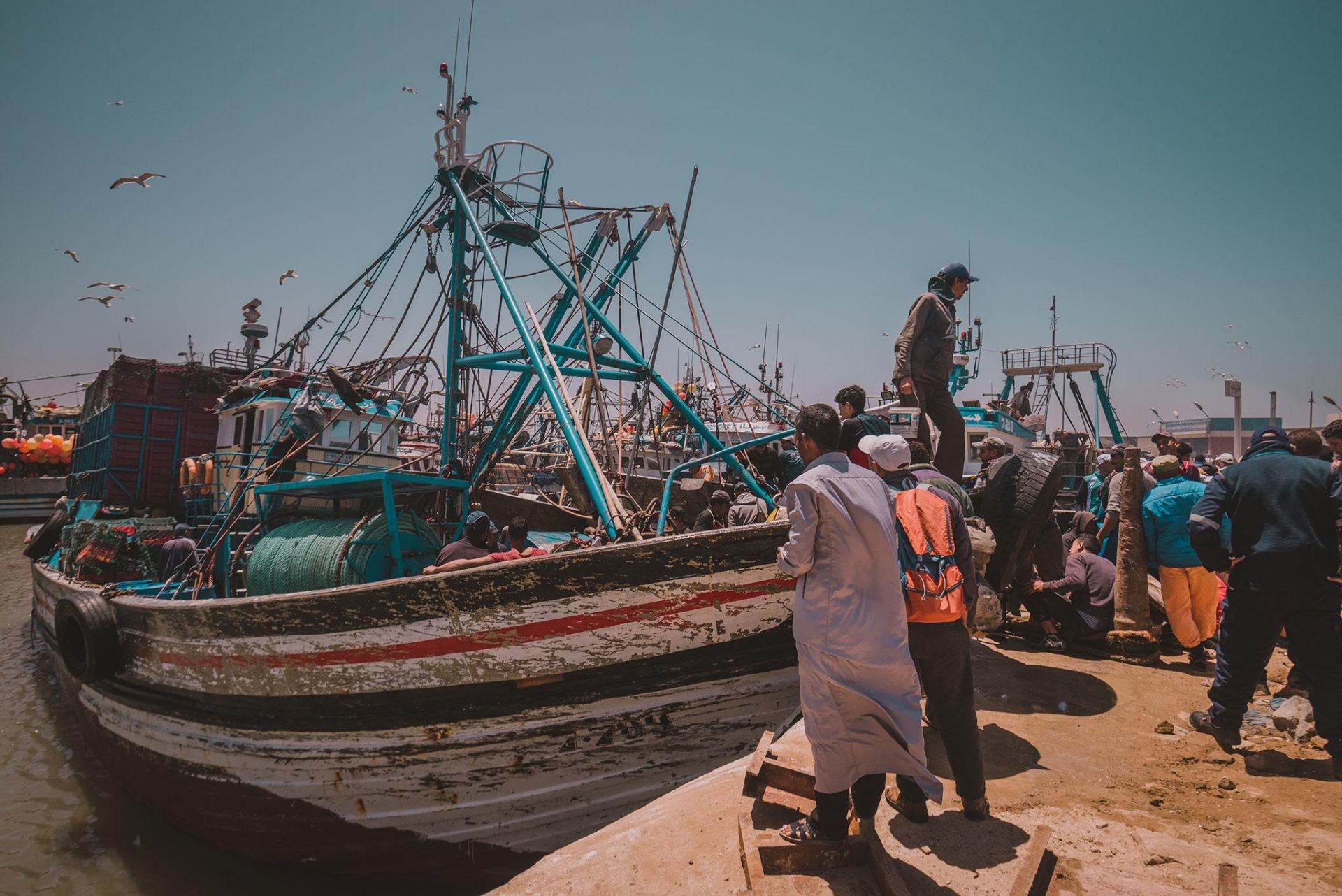 Visiter Essaouira (Mogador) et son port de pêche