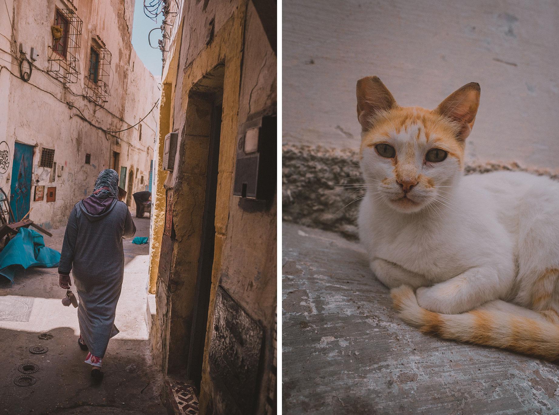 Essaouira, les ruelles
