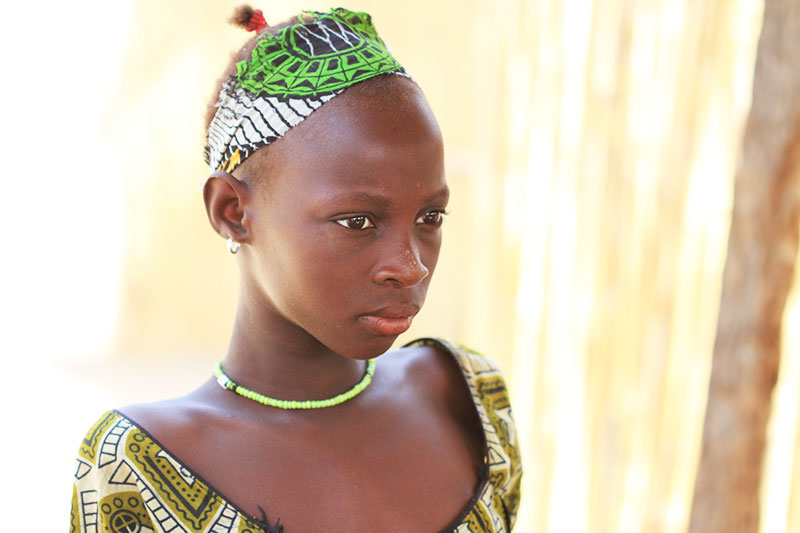 Fillette-senegal