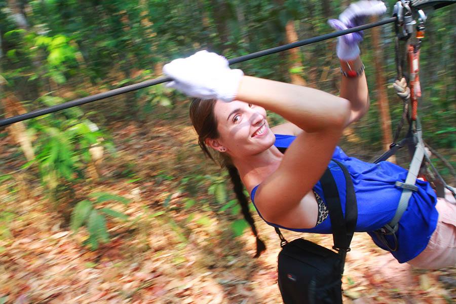 J'ai testé «The Gibbon Experience» au Laos