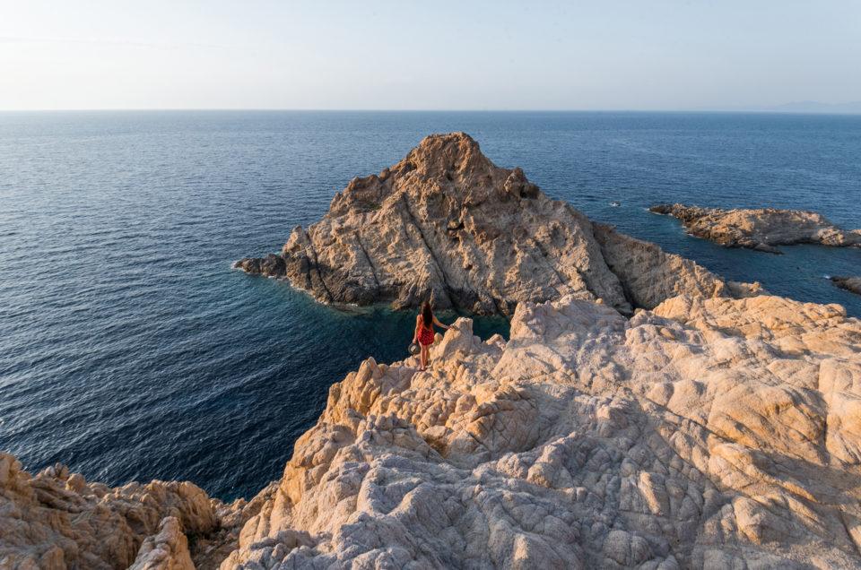 Un incroyable coucher de soleil visible depuis Ile-Rousse, en Corse !