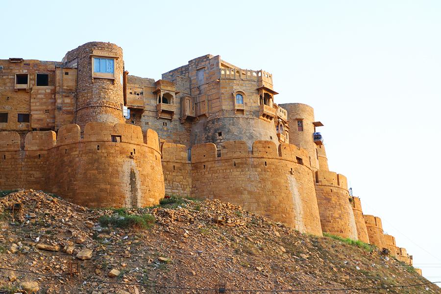 Jaisalmer: une ville dorée dans le désert du Thar