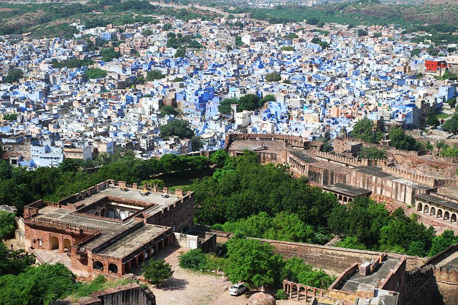 Jodhpur: une enchanteresse ville bleue