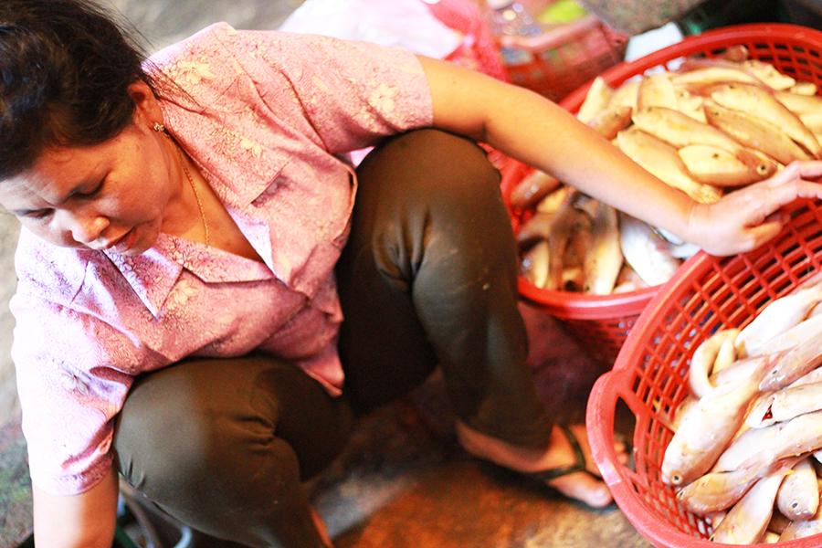 Marché de Kampot