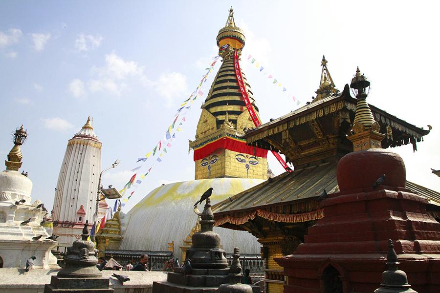 Stupa de swayambunath - Katmandou