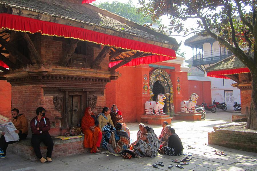 Les ruelles - Katmandou