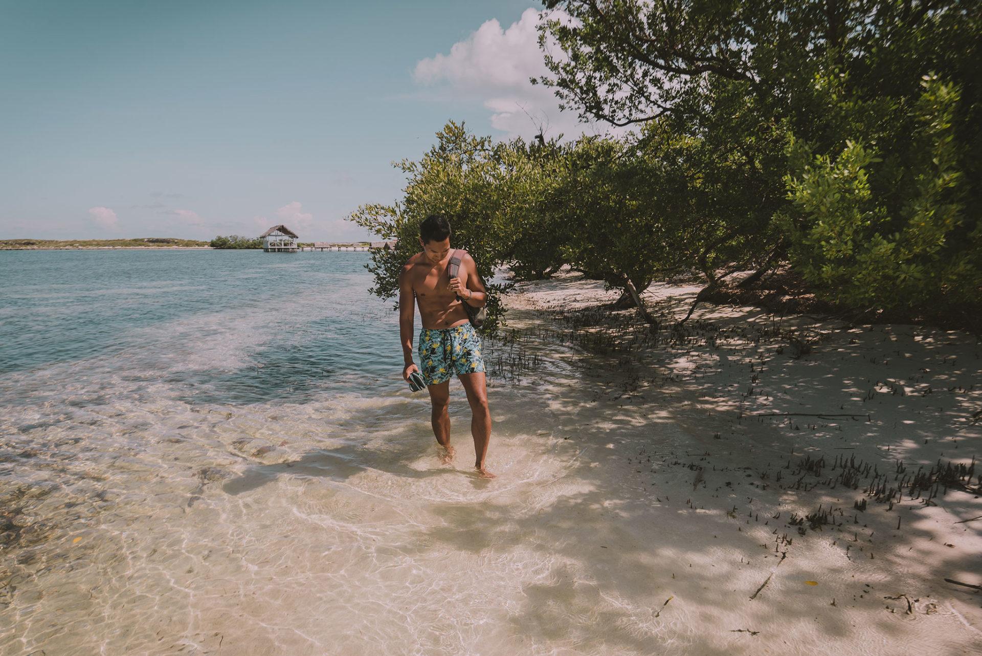 Plage paradisiaque à Cuba