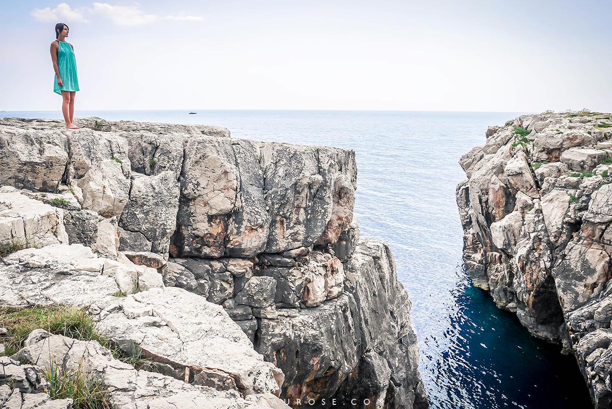 Lokrum-Dubrovnik-falaise