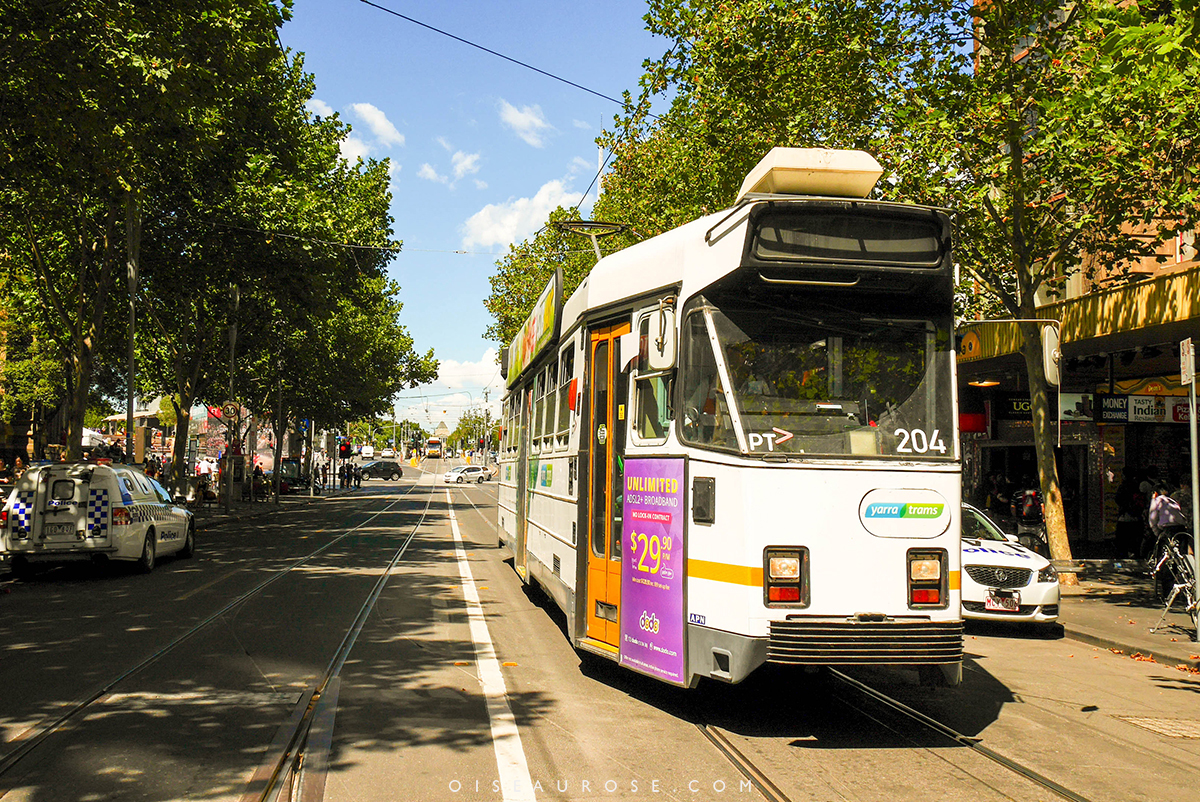 Melbourne-tramway
