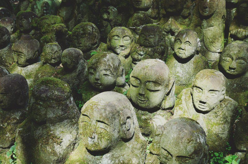 Le temple Otagi Nenbutsu-ji de Kyoto