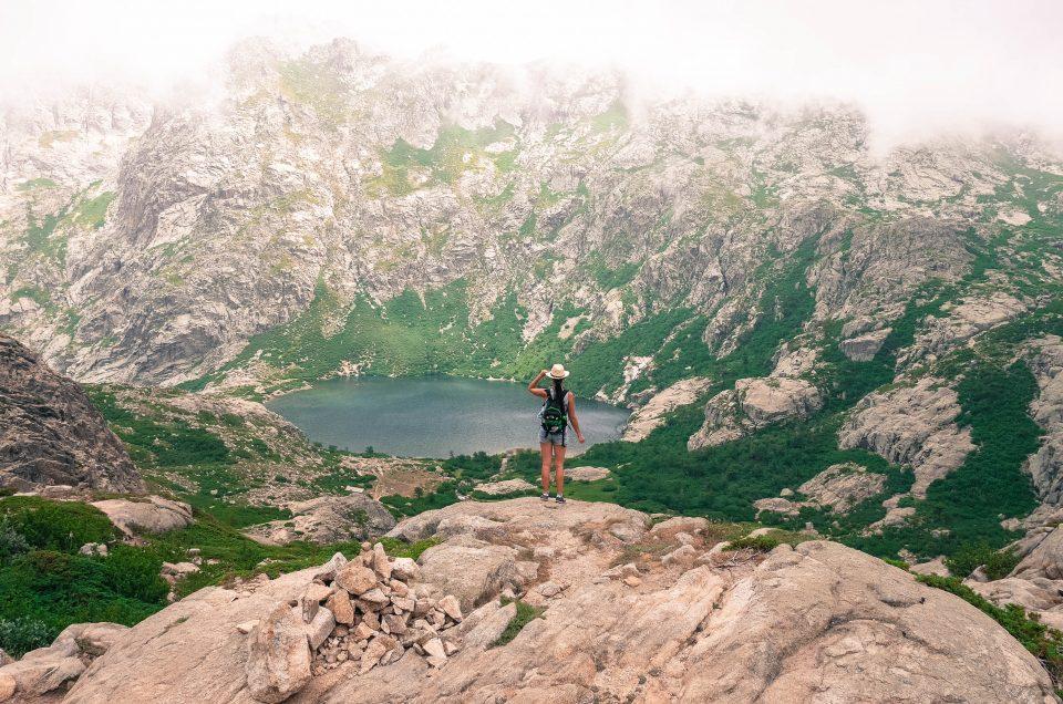 Lacs du Melo et du Capitello… Allez on grimpe !