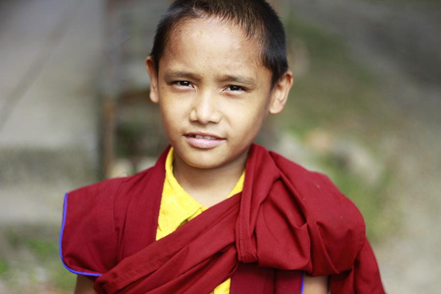 Pokhara - camp de réfugiés Tibétins