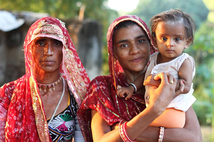 Une incroyable rencontre avec des fermiers de Ranakpur
