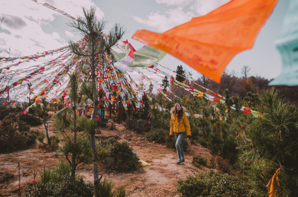 Ambiance tibétaine dans la ville de Shangri-La, au Yunnan