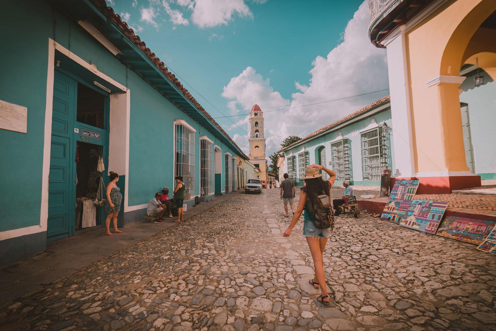 Photo de l'ambiance de Trinidad, à Cuba