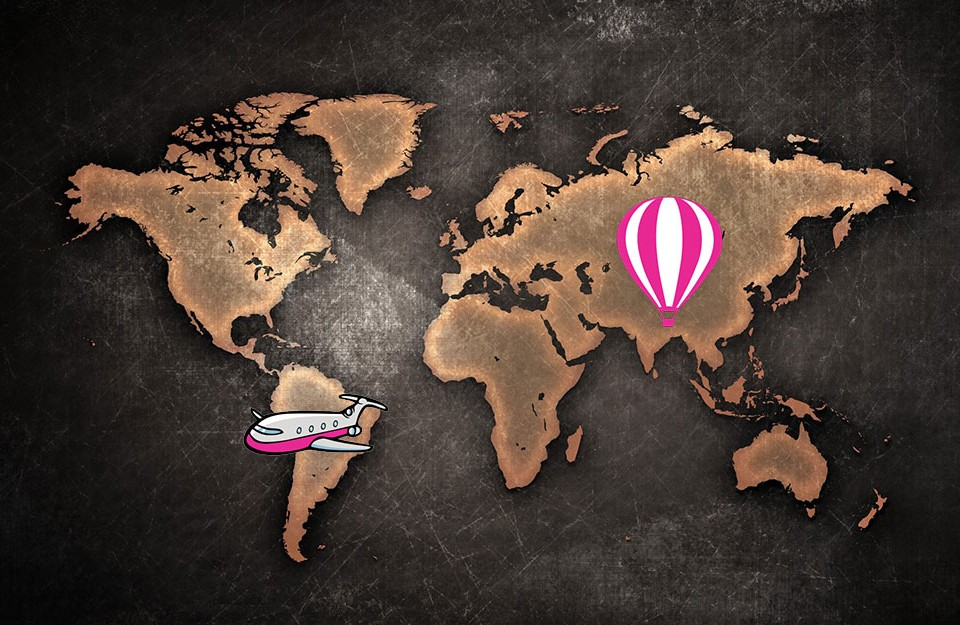 La liste extraordinaire de mes activités autour du monde !