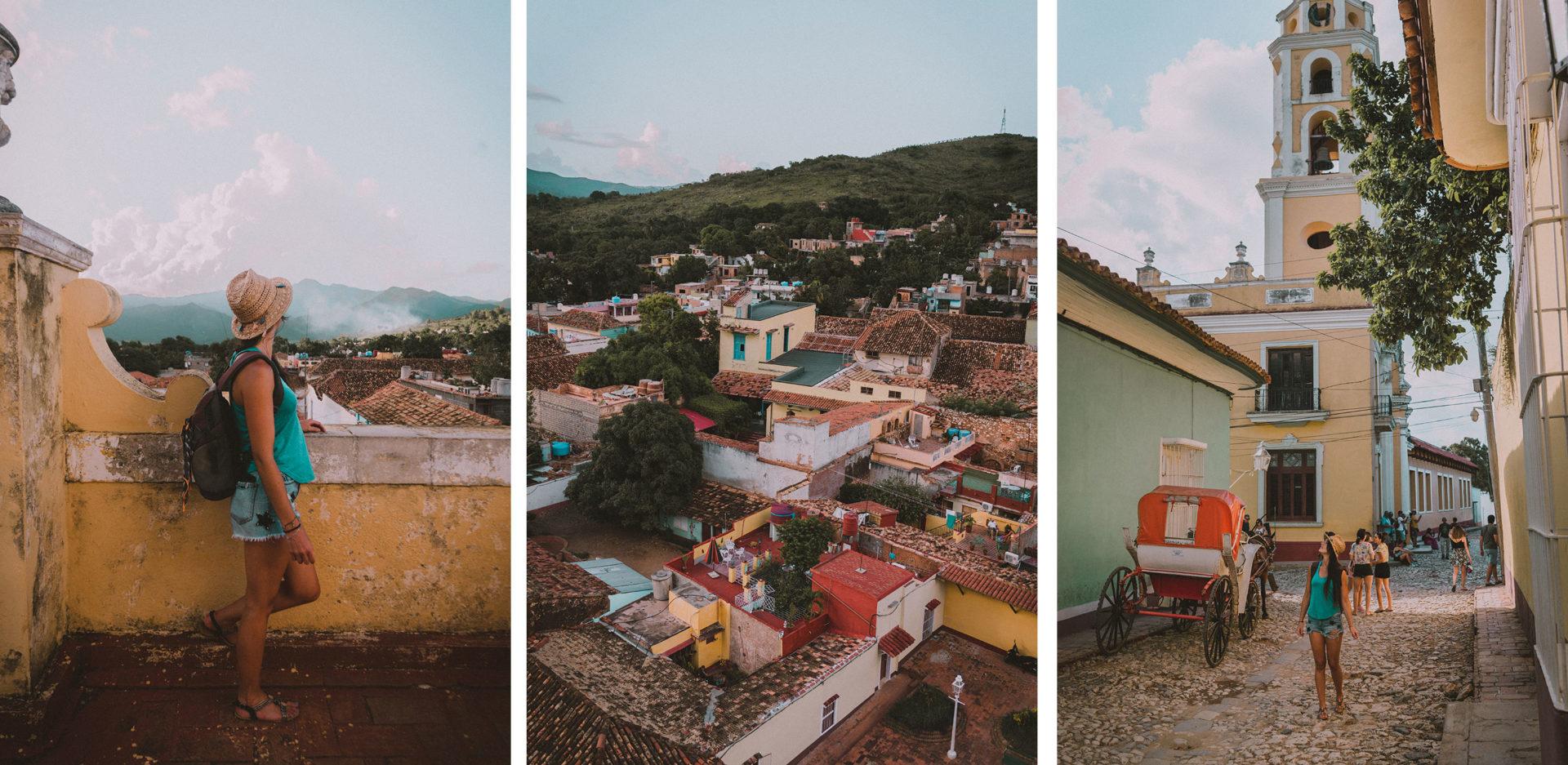 Vue panoramique sur Trinidad, Cuba.