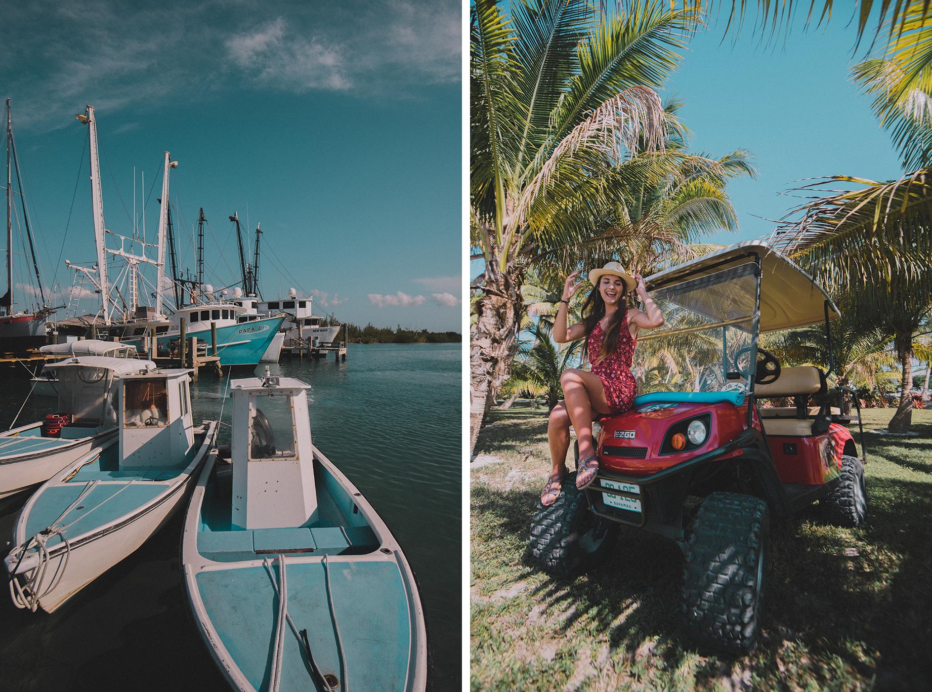 itinéraire aux Bahamas, se déplacer à Spanish Wells