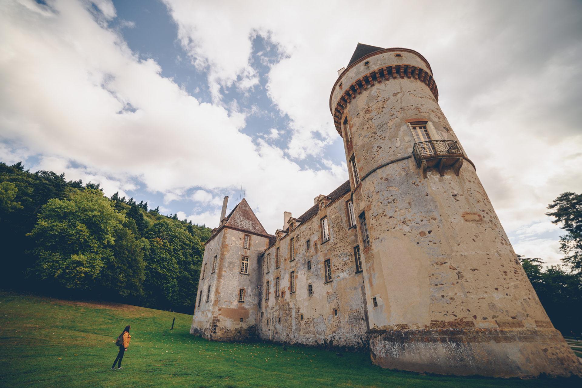château de bazoches, nièvre, morvan