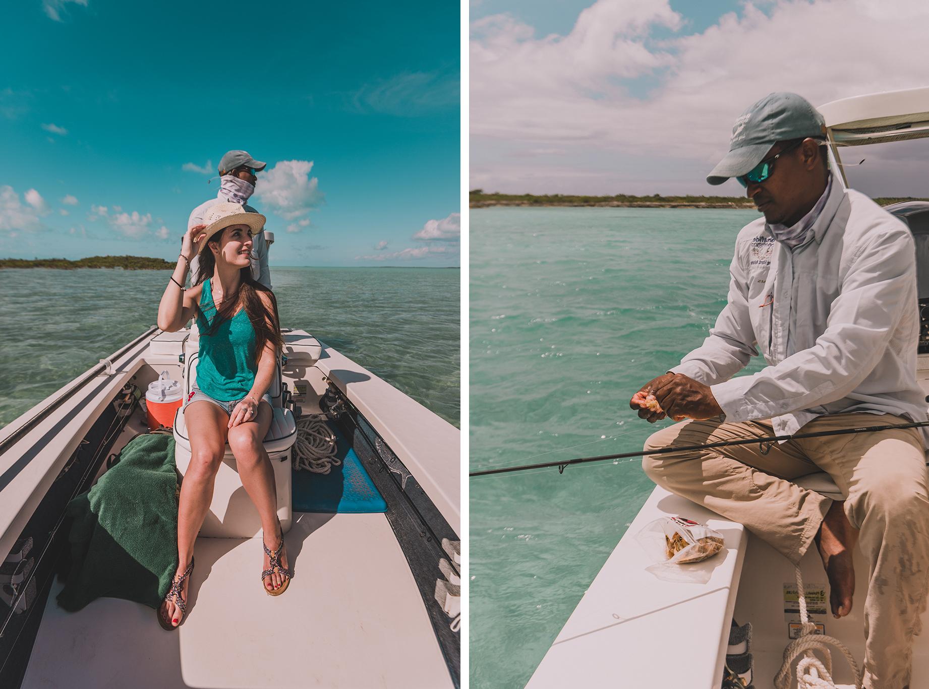 Pêche à la mouche, aux Bahamas