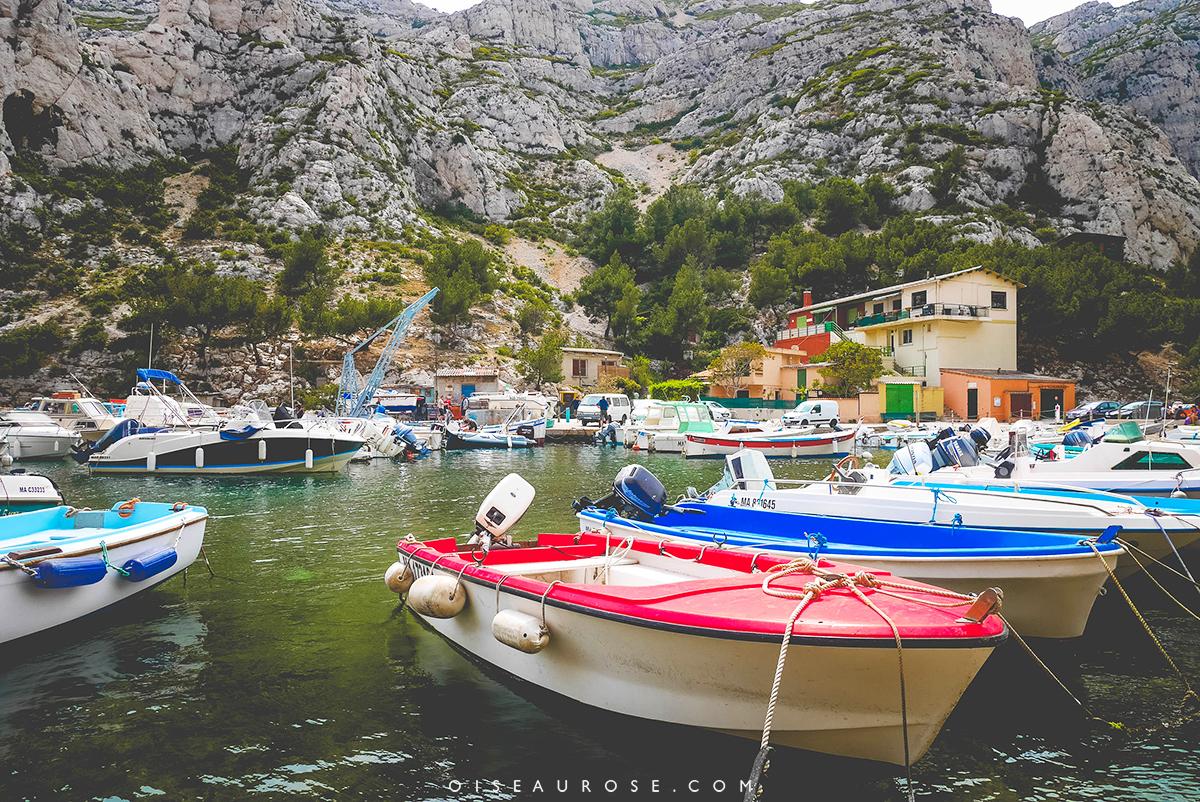 calanques-bateaux