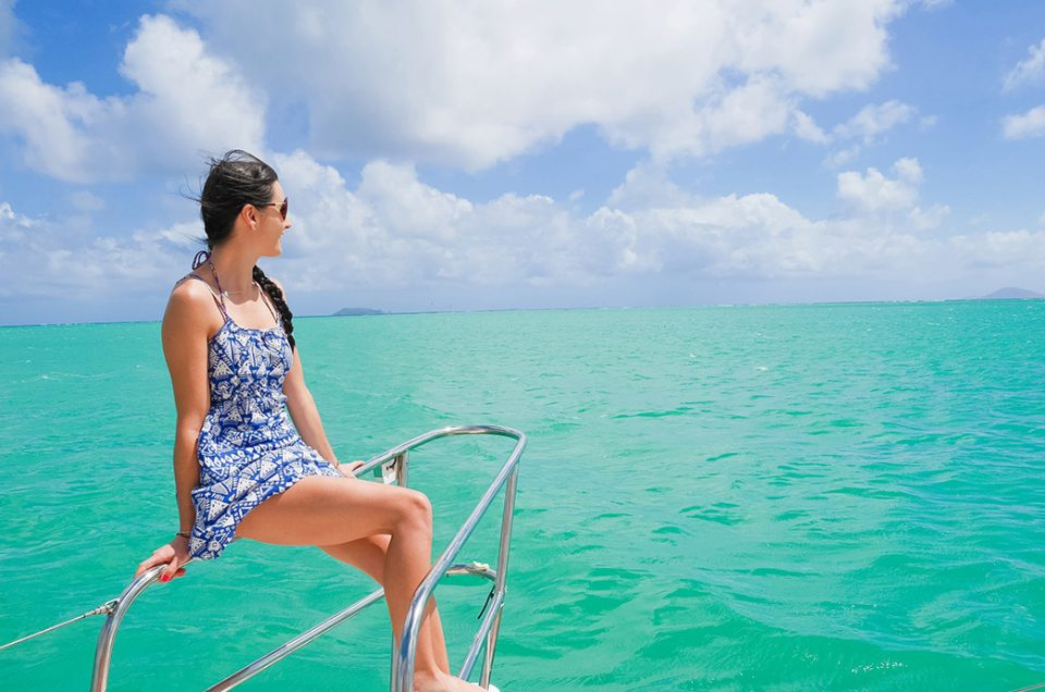 Une journée en catamaran à l'île Maurice, un rêve !