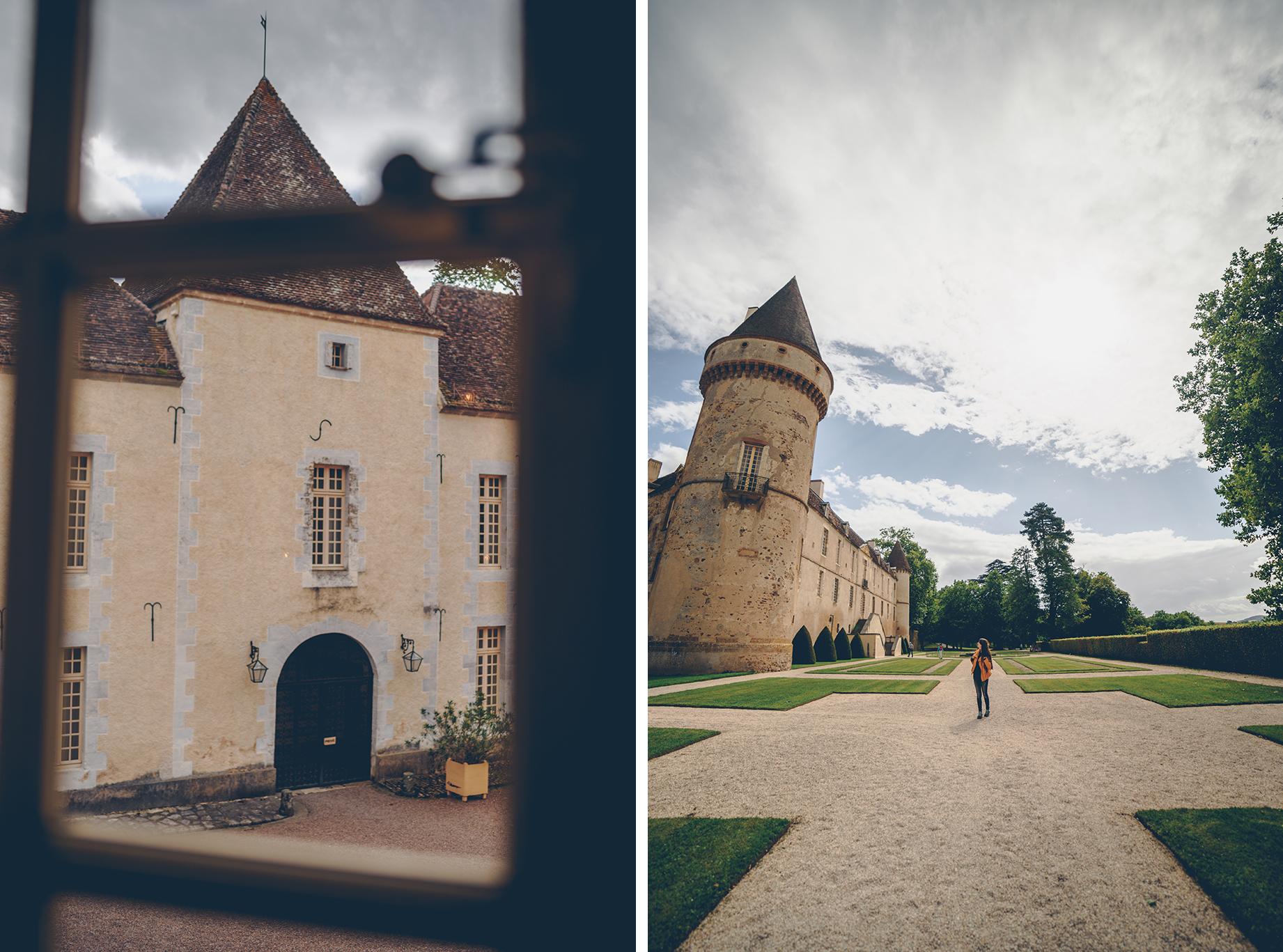 Visite du château de Bazoches