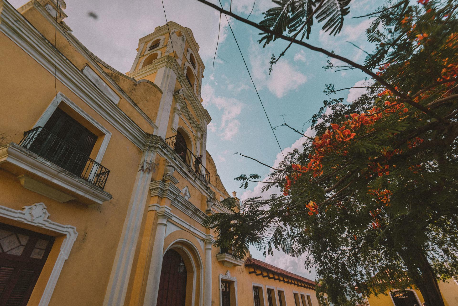 Le couvent de Trinidad et sa vue
