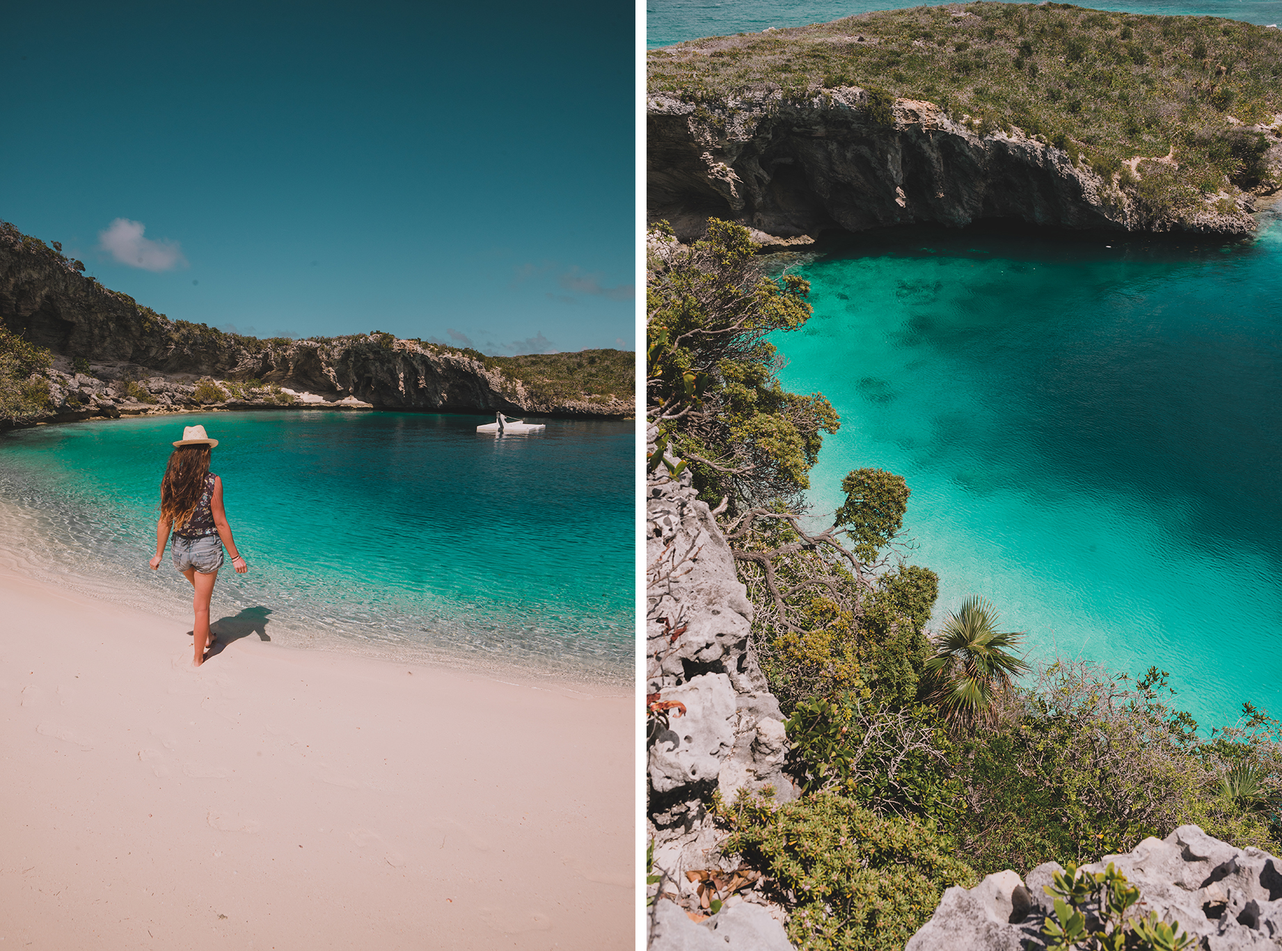 dean's blue hole long island, bahamas