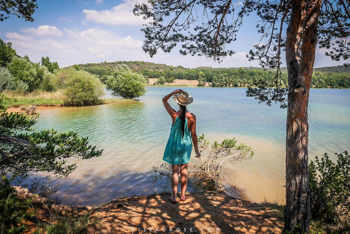 baignade au lac de Sainte-Croix