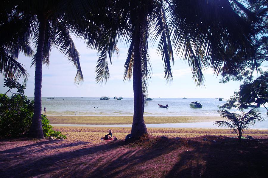 Koh Tao et ses superbes plages diséminées un peu partout...