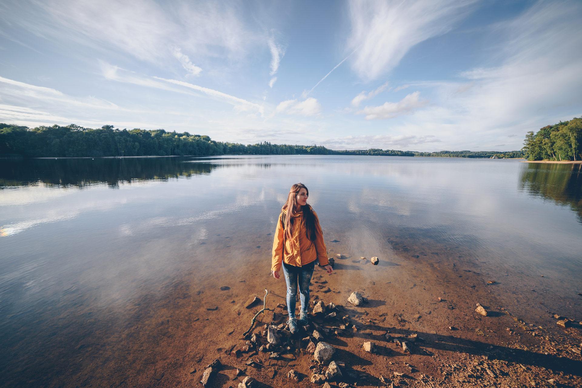 week-end dans la Nièvre lac des Settons