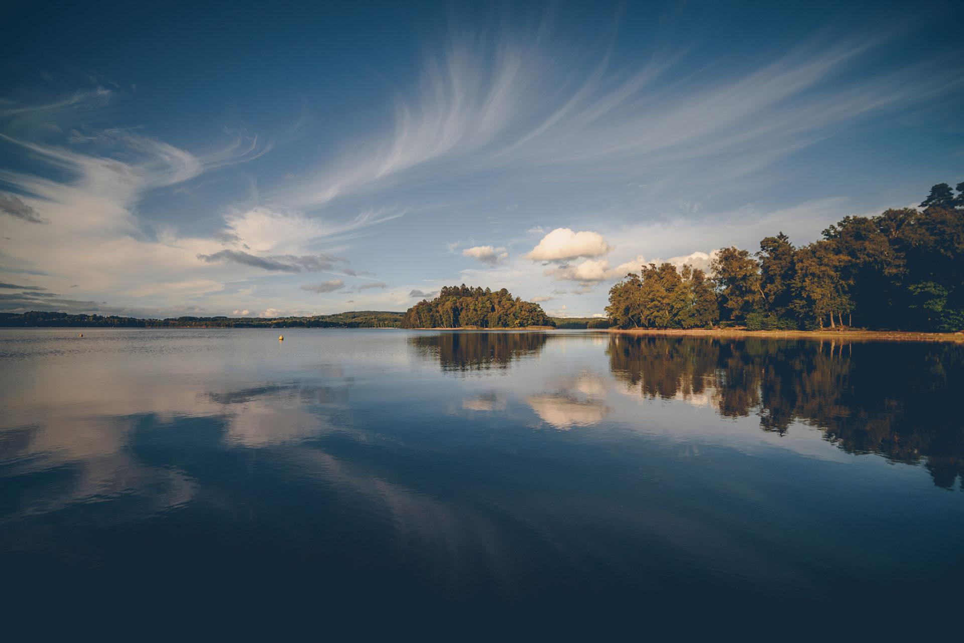 Lac des settons, Nièvre