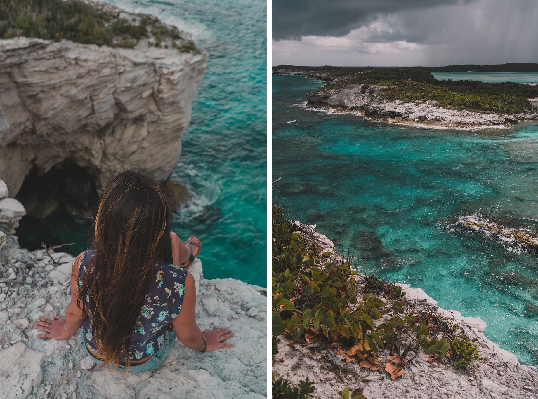 mon itinéraire aux Bahamas