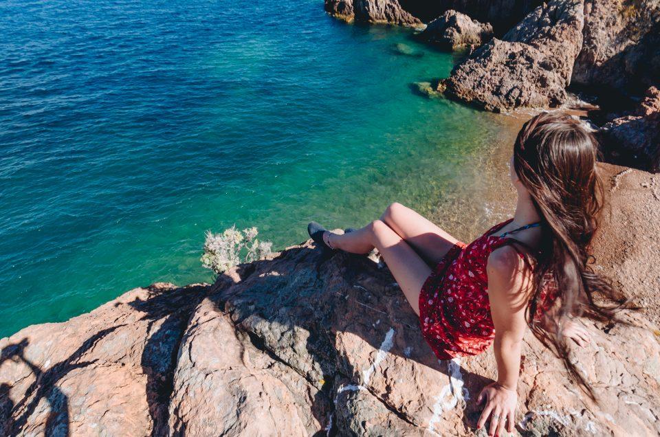 La sublime plage de la « Pointe de l'Aiguille » à Théoule-sur-Mer !