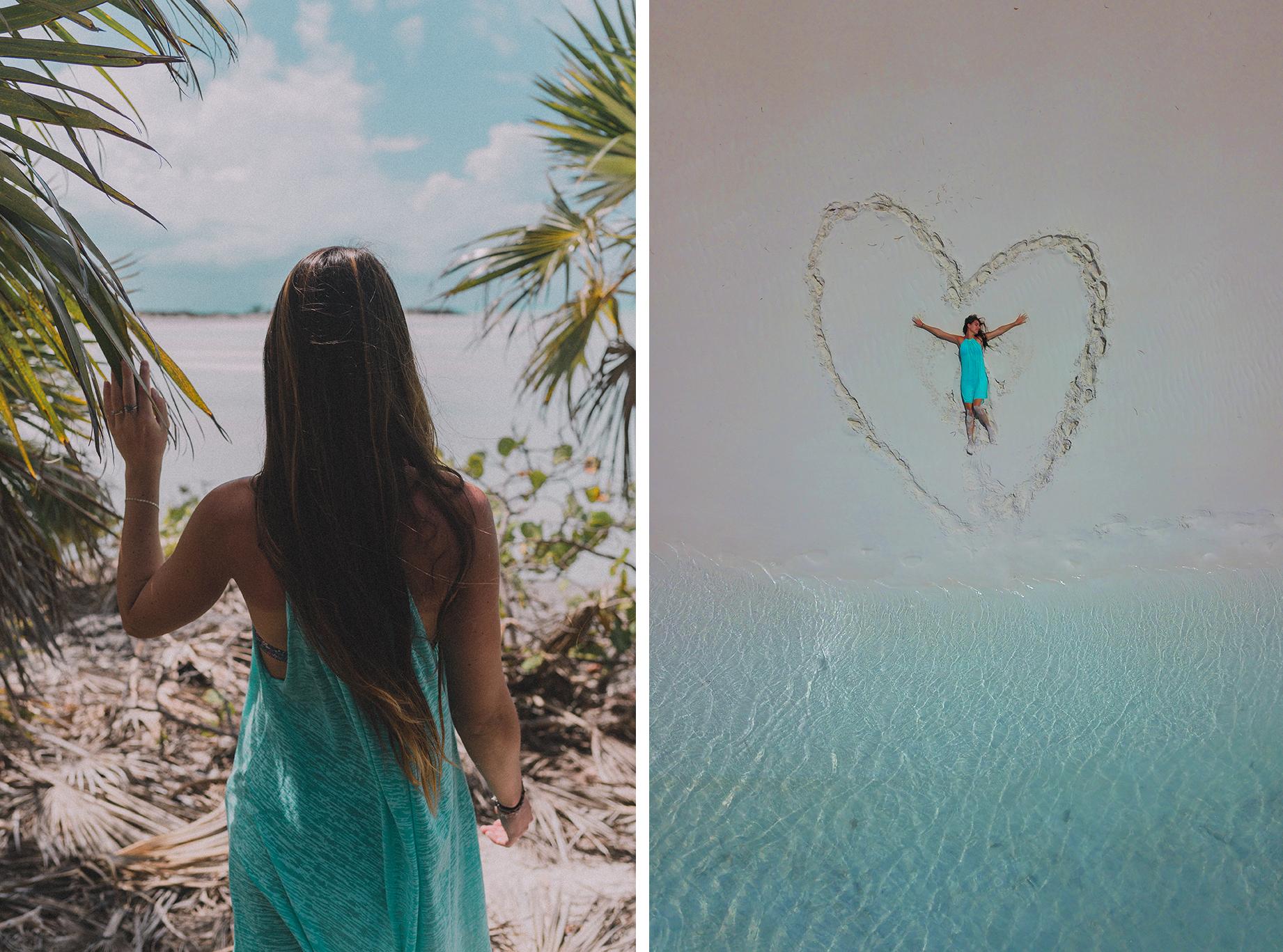 Bahamas, sandy cay