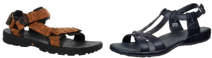 sandales de marche