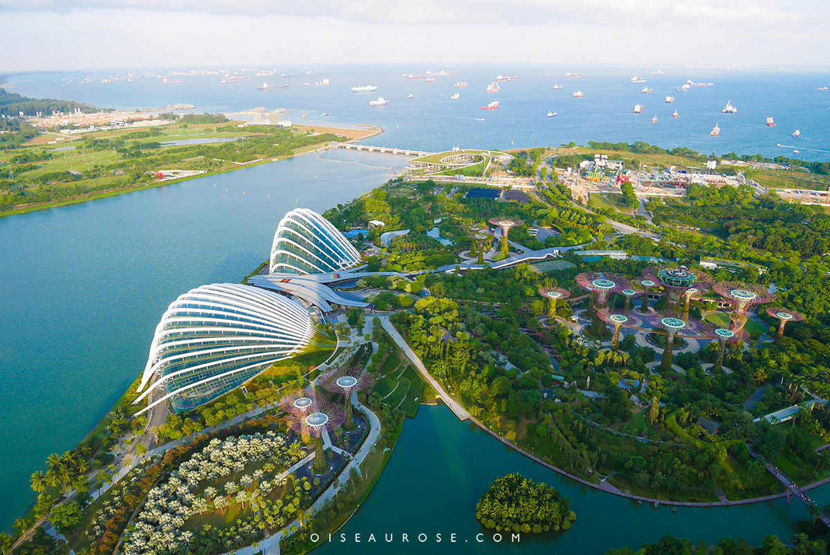 Singapour trois jours pour d couvrir la ville l for Au jardin singapore wedding